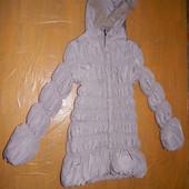 р. 152-158-164, зимнее пальто куртка Monika растет вместе с ребенком