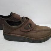 Кожаные ботинки,туфли Josef Seibel, 42р,стелька27см, отличное состояние