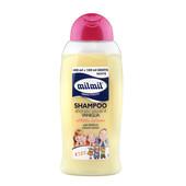 Детский шампунь-кондиционер 2 в 1 Mil Mil xxl ванильный, 500 мл. Италия