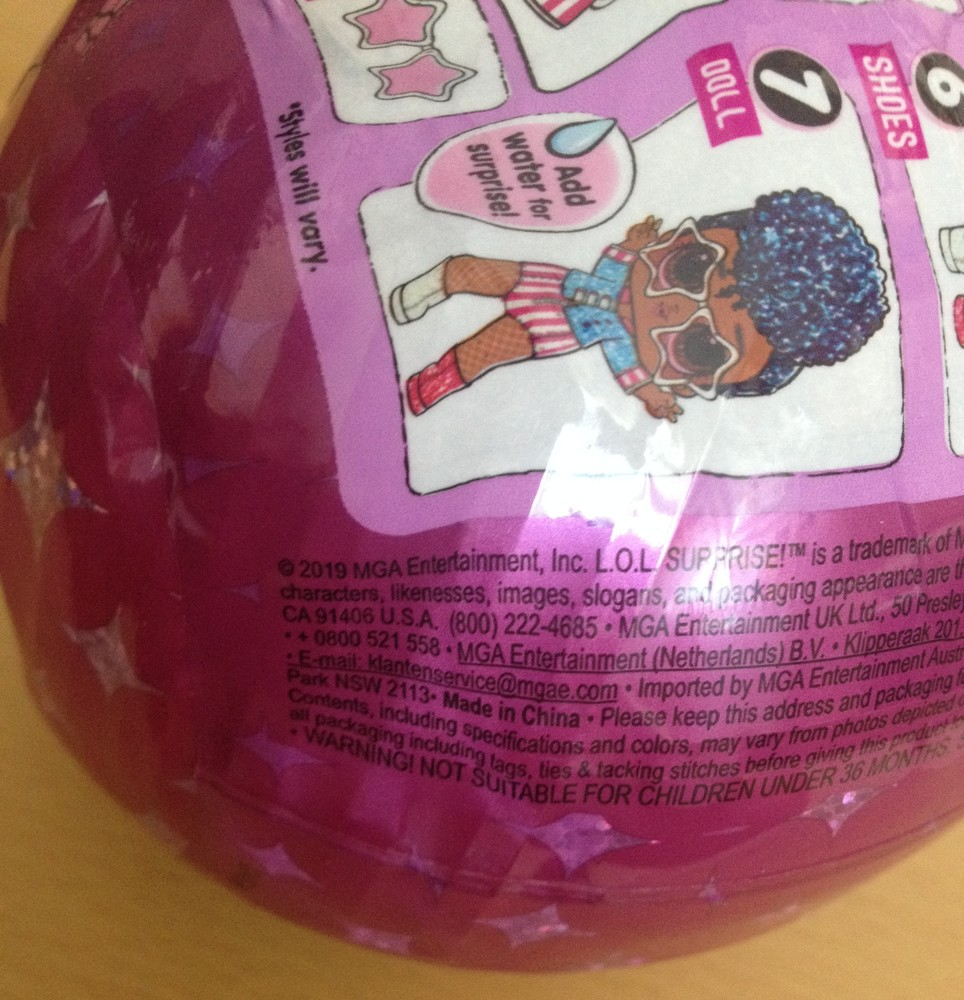кукла лол сияющий сюрприз оригинал Mga Lol Surprise Sparkle Series With Glitter Finish 560296