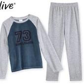 Пижамные велюровые  брюки на мальчика от Alive  р. 128 см.