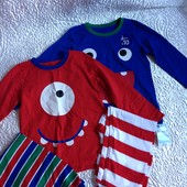 Яркие и красивые пижамки mothercare, с года до 4 лет
