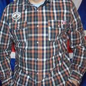 Стильная фирменная брендовая рубашка Camp David.л-хл .