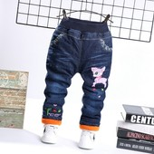 Теплые джинсы для девочки . зима р 92-110
