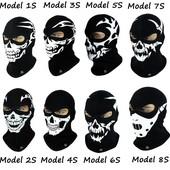 Балаклава-маска с черепом Radical Scull утепленная подшлемник Польша