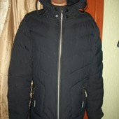 зимняя теплая дутая куртка 48- размер смотрим замеры
