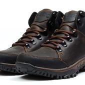 Зимние кроссовки на меху Ecco Techmotion, код kv-30711