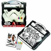 Disney Доска для рисования Звездные войны star wars storm trooper rolling art desk play set