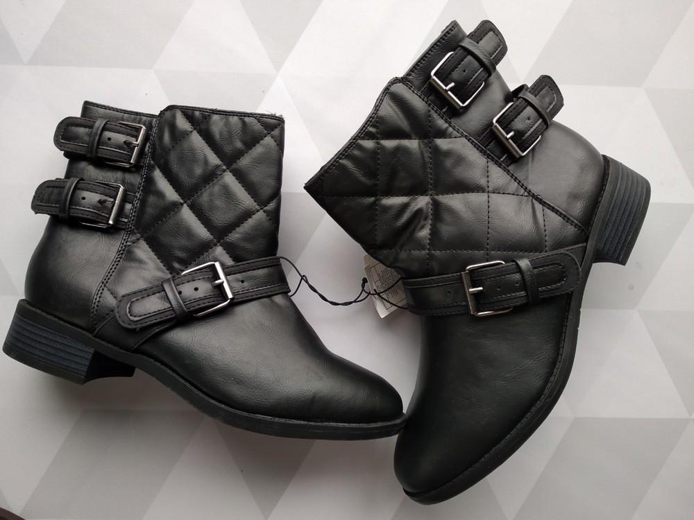 Женские демисезонные ботинки kiabi франция!!! фото №1