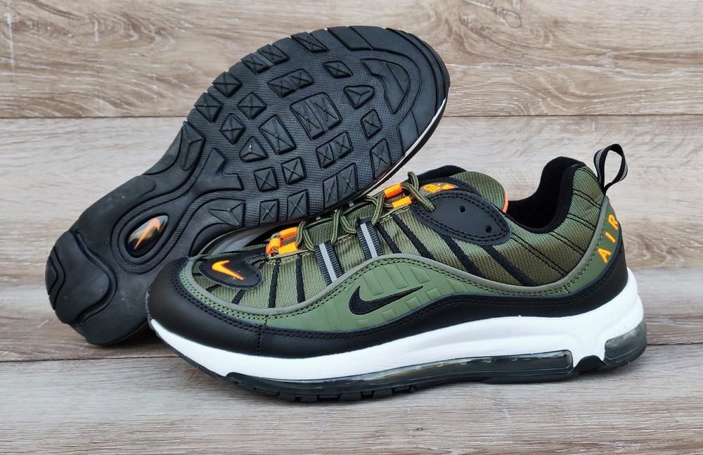98f6fca5 3 расцветки. хаки мужские кроссовки nike air max 98 supreme, цена ...