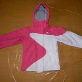 р. 134-140 лыжная куртка сноуборд мембрана 2000 Trespass, Великобритания