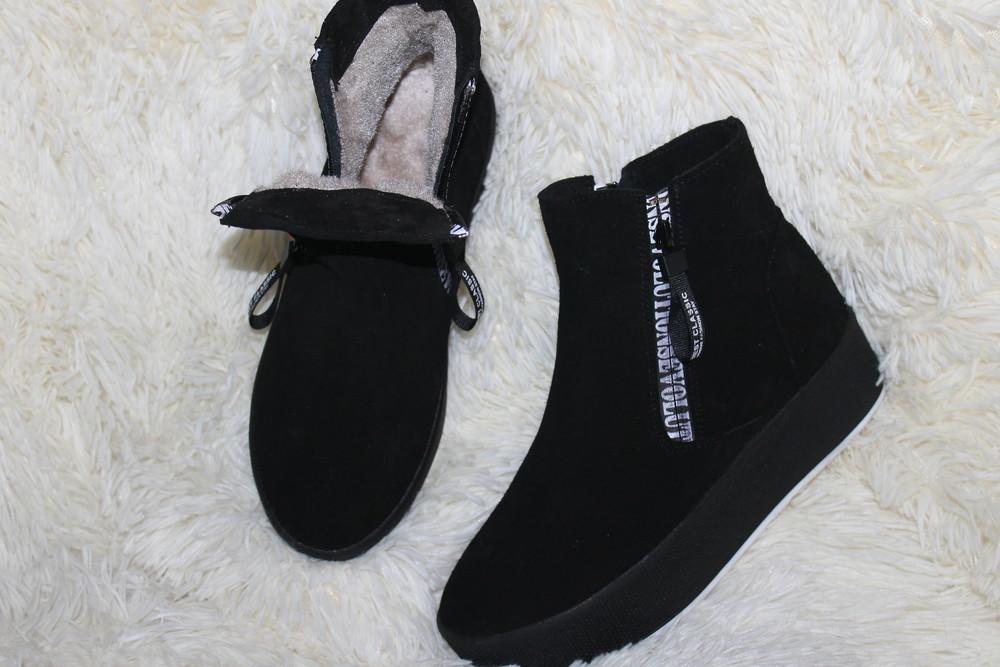 Зима 2019 новинки, женские , короткие ботинки, с 36-40р фото №1