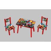Столик со стульчиками Супергерой С 084