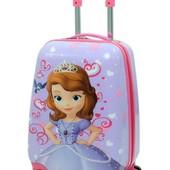 Детский детский,пластиковый чемодан ,Принцесса София