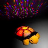 Детский музыкальный ночник проектор,мягкая игрушка Черепаха, дитячий музичний нічник мяка іграшка