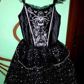 Платье карнавальное Фея,звездочка на 11-12лет(146-152см)