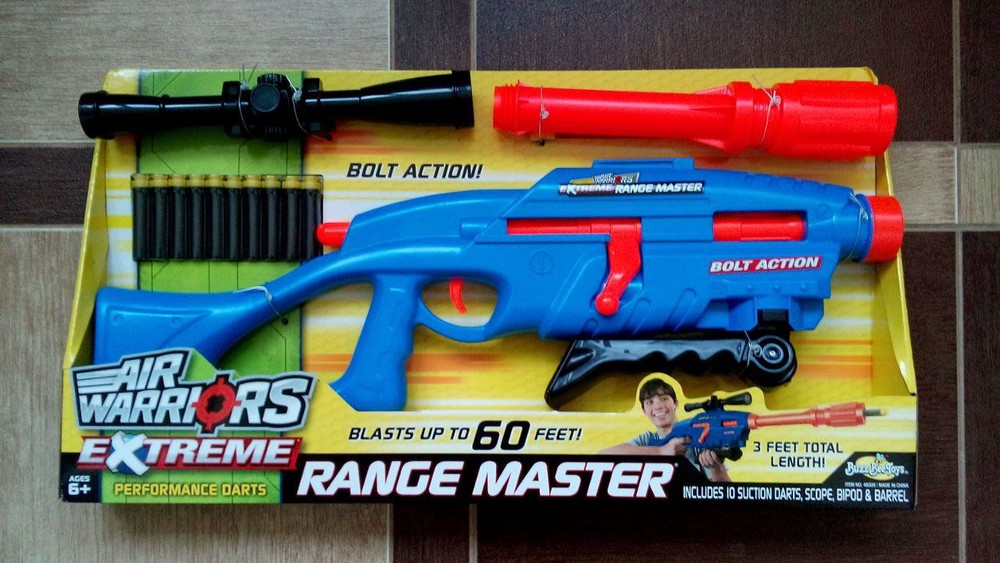 Бластер extreme range master blaster фото №1