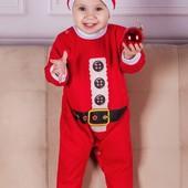 Новогодний костюм для малыша Санта