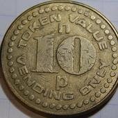 Лот №-27. Распродажа коллекции иностранных памятных монет, жетонов, медальонов.(Редкие!).