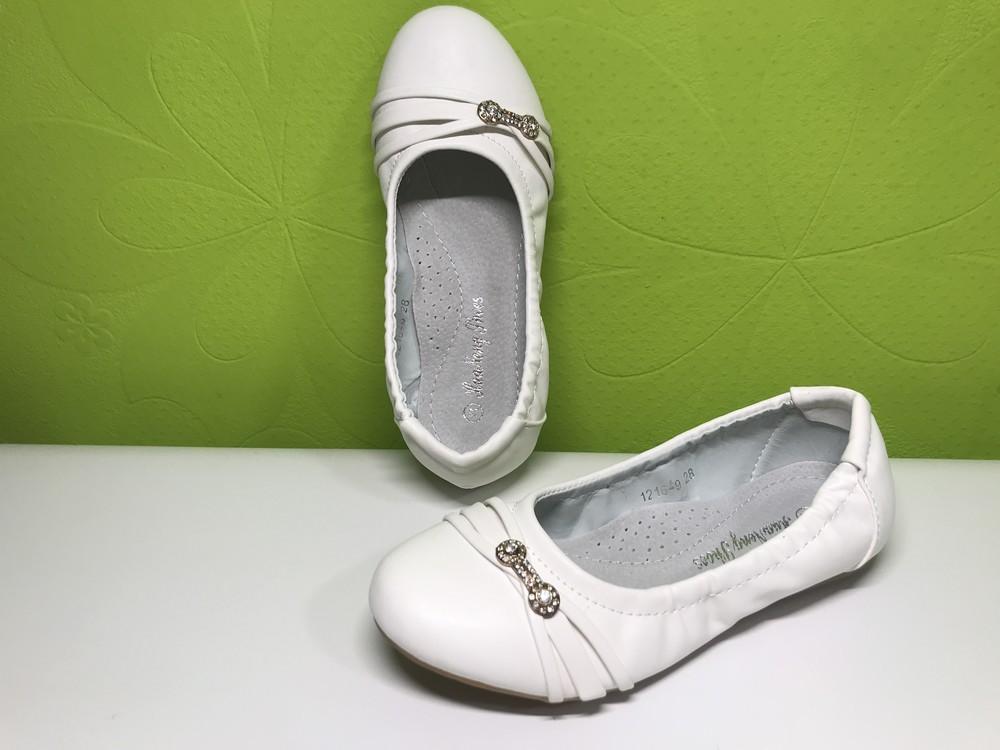Туфли балетки девочка тм леопард 26-31 р фото №15