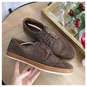 Шикарные замшевые мужские туфли Zign рр 46