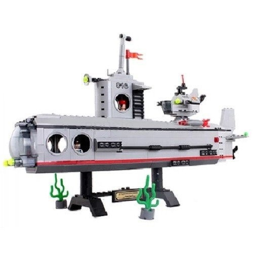 Брик 816 субмарина подводная лодка конструктор brick enlighten combat zones фото №3