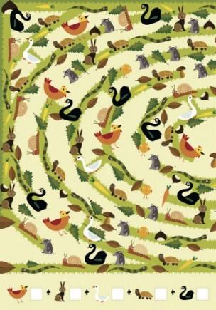 Віммельбух гігантські лабіринти заховані в природі фото №4
