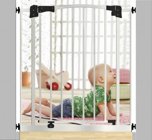 Ворота безопасности - барьер ограждение на лестницу или дверной проем. фото №1