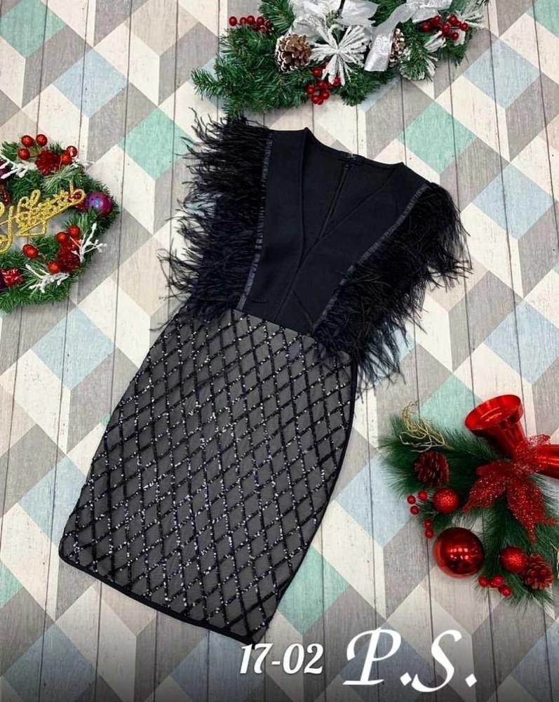 Женское стильное и нарядное женское платье фото №3