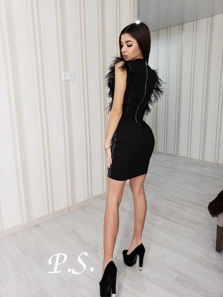 Женское стильное и нарядное женское платье фото №4