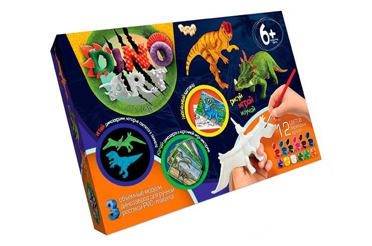 Набор для любителей динозавров фото №5