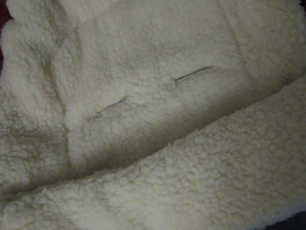 Теплый конверт- трансформер на овчине в коляску/санки от рождения до 3 лет фото №9