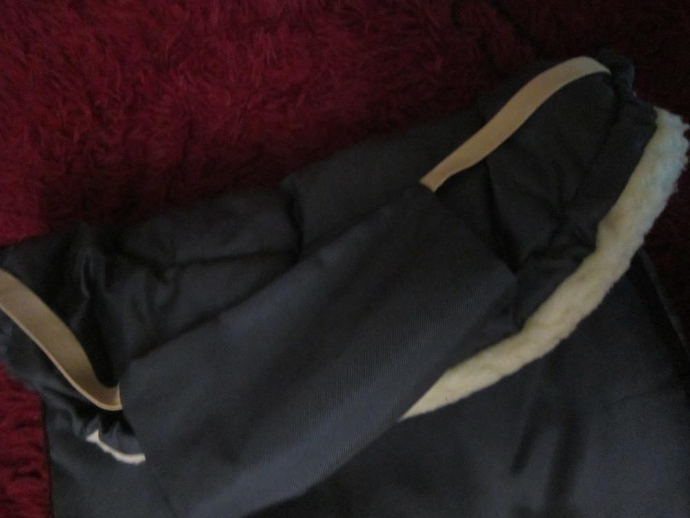 Теплый конверт- трансформер на овчине в коляску/санки от рождения до 3 лет фото №10