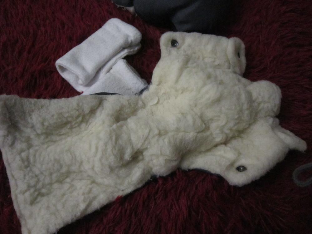 Теплый конверт- трансформер на овчине в коляску/санки от рождения до 3 лет фото №16