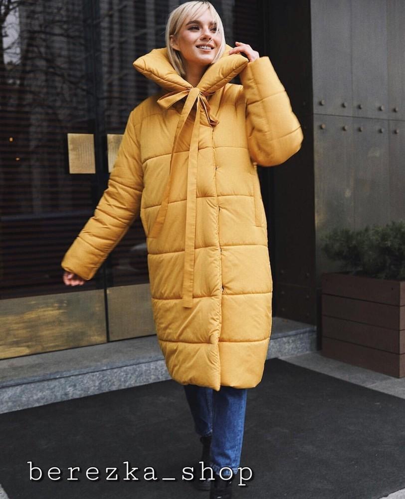 Женская стильная и теплая куртка фото №1