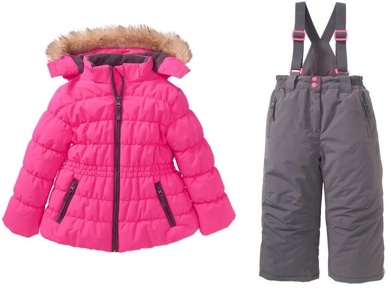 Теплый зимний термо комбинезон kiki&koko куртка штани комплект 104 фото №1