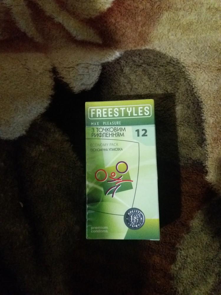 Презервативы freestyles 12 max pleasure точечные фото №1