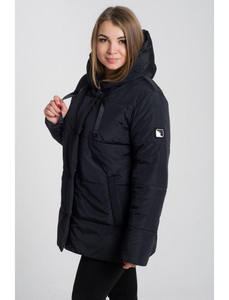 Куртка женская демисезонная 57 (черный) фото №1