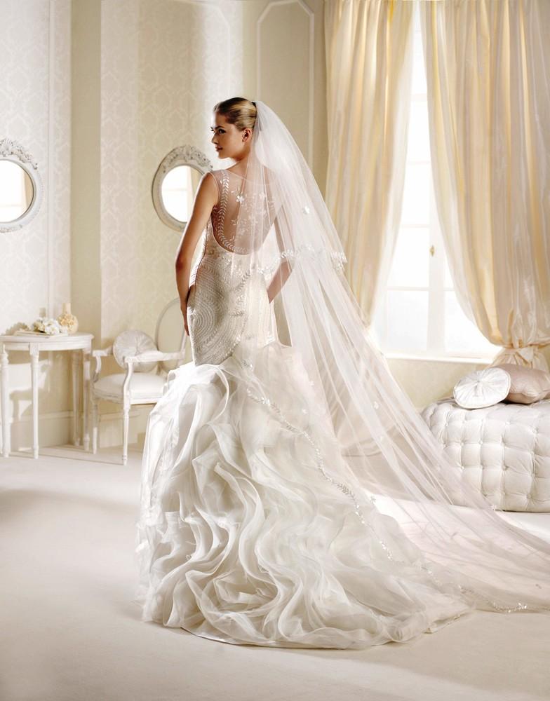 Продам новое свадебное платье la sposa inaudi, размер 12uk. фото №1