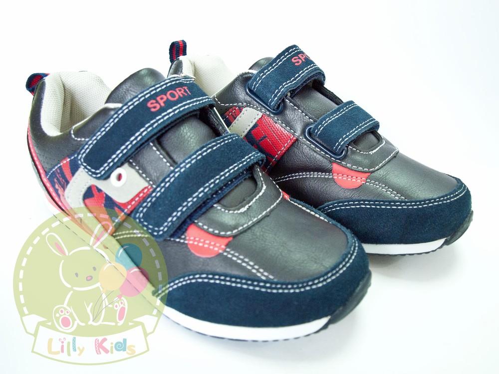 Кроссовки кожа для мальчика biki, bi&ki, tom.m размеры 31-38 фото №1