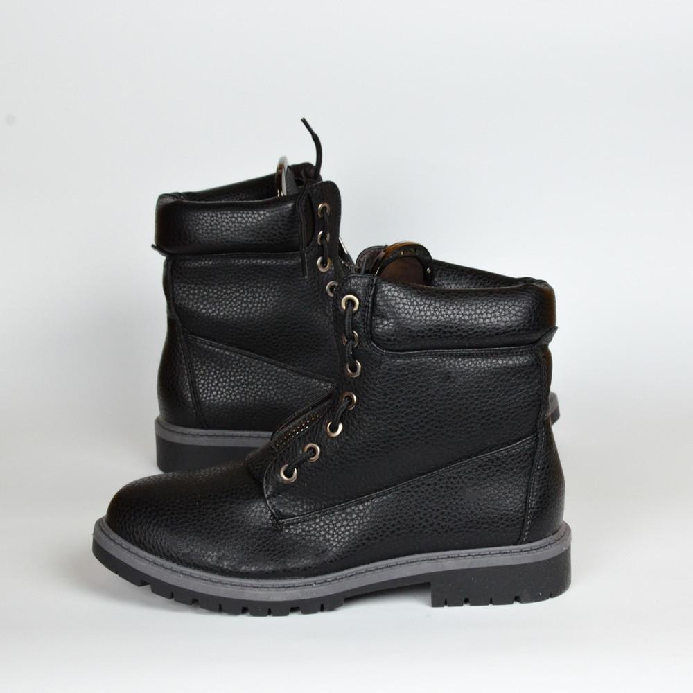 Скидки!черные ботинки демисезон ( без меха) 38\39\40\41 фото №1