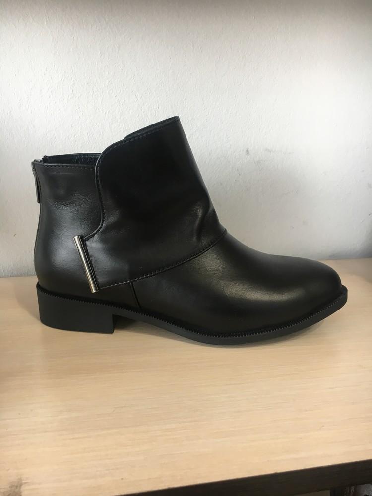 Кожаные женские ботинки ! отличное качество, фабричная цена ! фото №1