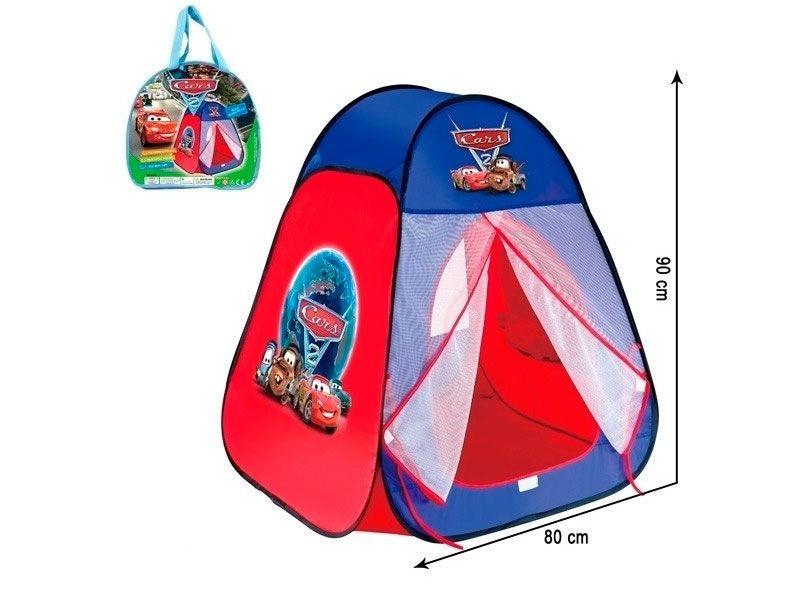 Детская палатка домик 811 s, тачки фото №1