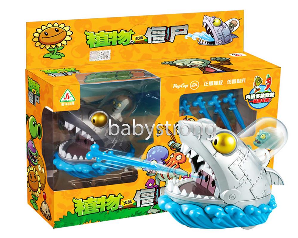 Боевые машины зубатая акула игровой набор растения против зомби | plants vs zombies фото №1