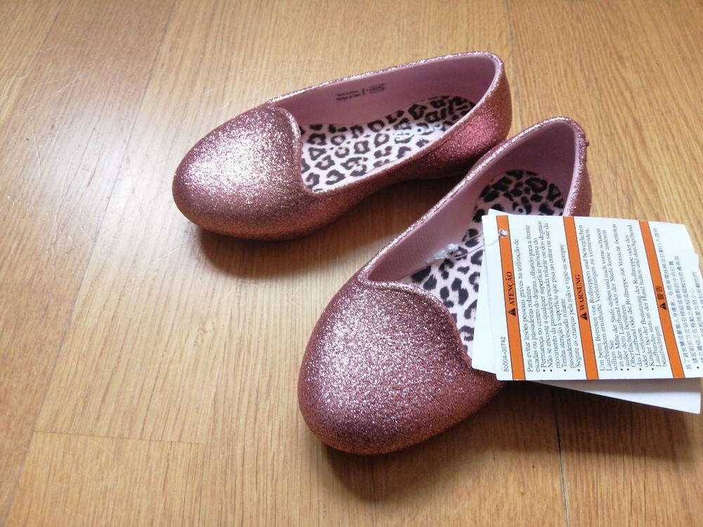 Балетки crocs eve sparkle, размеры с8, с9 фото №1