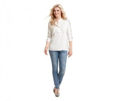Модные узкие джинсы tсм tchibo от helen fischer. 40 евро фото №1