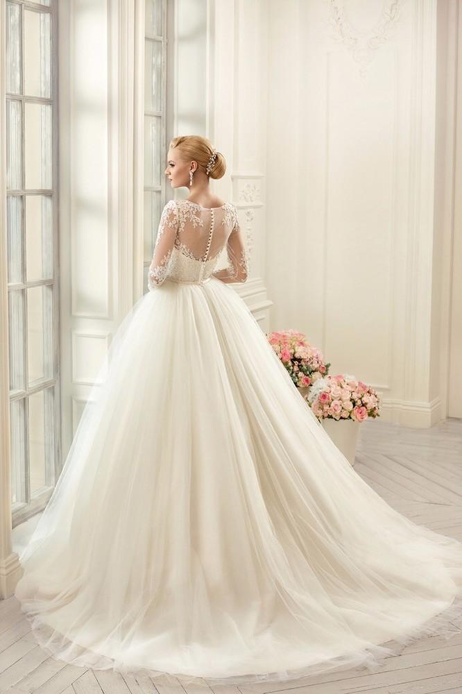 Шикарное свадебное платье naviblue фото №1