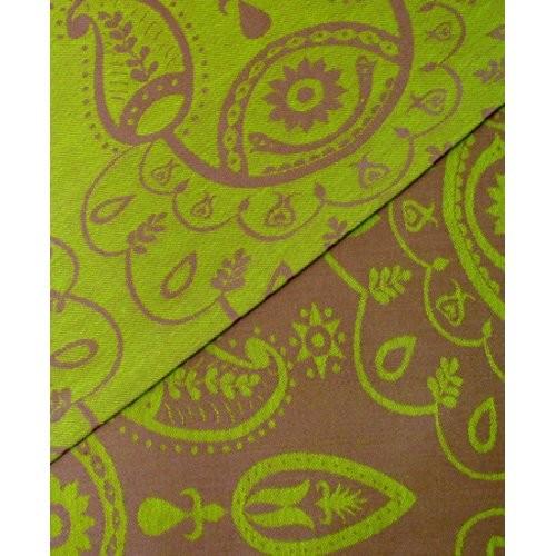 Слинг с кольцами paisley lime green фото №1