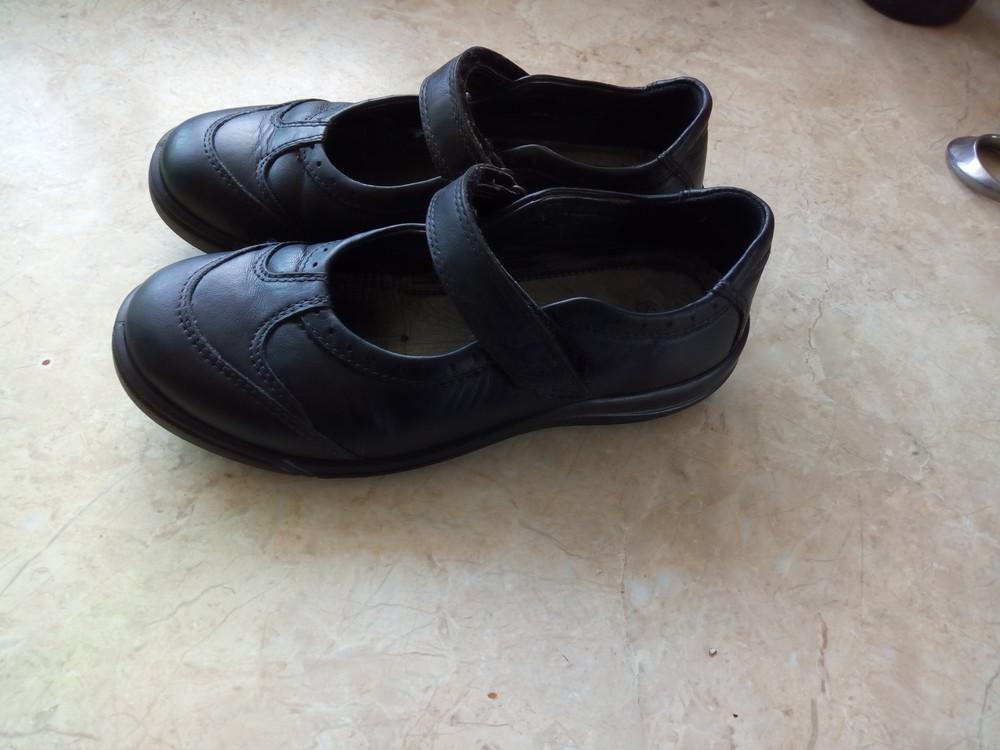 Туфельки ecco 32й размер, по стельке 20см. фото №1