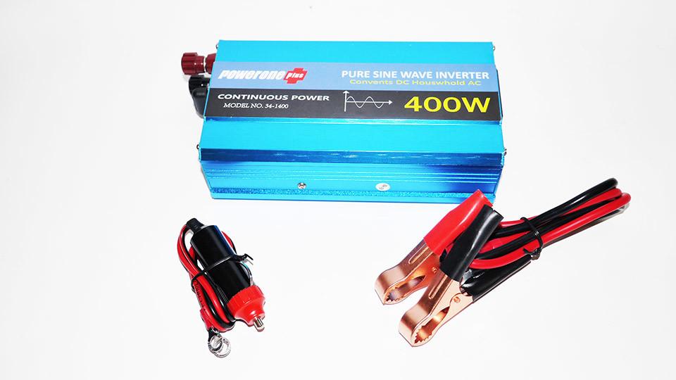 Powerone 400w преобразователь с чистой синусоидой ac/dc 12v фото №1